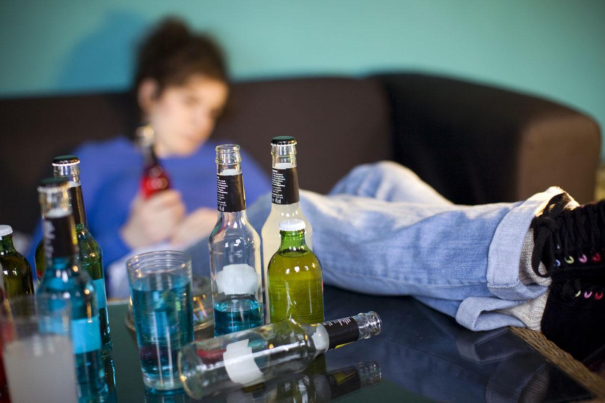 Alcolismo da bambini di carta di Russia
